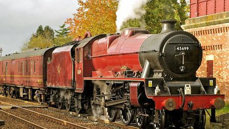 Jubilee 4-6-0 No. 45699 Galatea from the West Coast Railways stable will be ampong the locos running