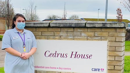 Sophy Cobbold, a care home worker in Stowmarket, has received an award after saving the life of a 30-year-old man who...