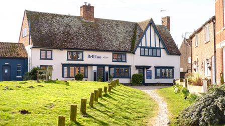 An exterior shot of The Bell Inn in Walberswick