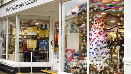 Businesses in Beccles taking part in the Christmas Tree Trail 2020.