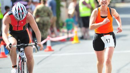 Action from the Beccles Triathlon
