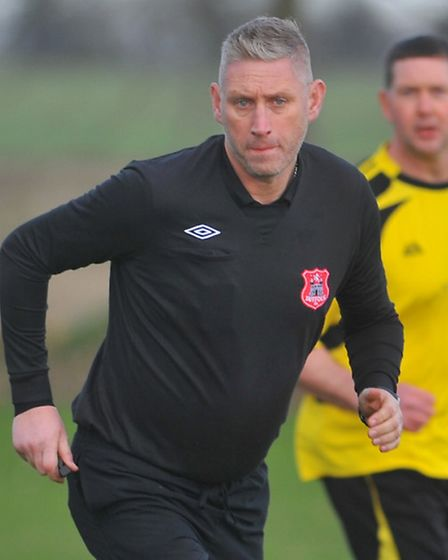 Former Gorleston and Diss manager Richard Daniels, who is now refereeing and trying to qualify to re