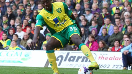 Jamar Loza in action against Arsenal on the last day of the Premier League season, a 2-0 defeat for