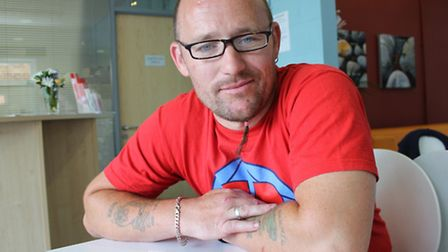 Luke Lee-Smith, who has set up a new club for sufferers of depression and anxiety. Photo: Karen Beth