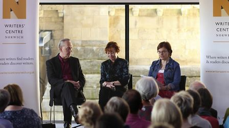 NNF14 - The Lives of Great Women Writers; A Literary Festival in a Day. Bryan & Mary Talbot talk abo