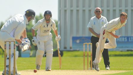 Norfolk County Cricket club versus Suffolk County Cricket Club in the Unicorns Knockout Trophy at Ma