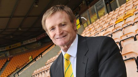 Former Norwich City player Peter Mendham; Photo by Simon Finlay