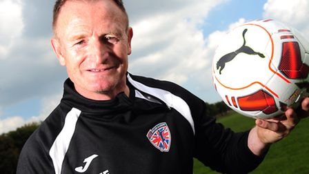 Former Norwich City star Peter Mendham who is relaunching his coaching career. Photo by Simon Finlay