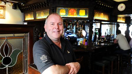 The Short Blue on Gorleston High Street.Pub of the Week. Landlord Kevin Duffield.Picture: James Bass