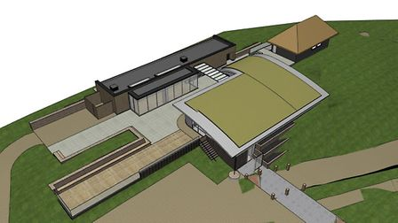 An impression of the proposed Simon Aspinall Wildlife Education Centre at Cley. Picture: LSI ARCHITE