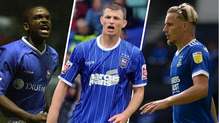 Darren Bent, Tommy Smith and Luke Woolfenden have all played 50 games since graduating from Ipswich Town's academy.