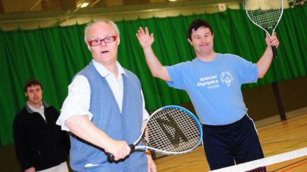 Adults with disabilities from all over Norfolk attend the Adult Multi-sport Festival at UEA Sportspa