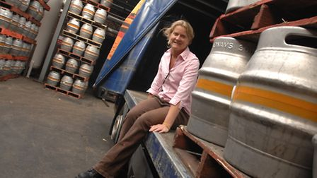 Belinda Jennings is a brewer at Adnams in Southwold