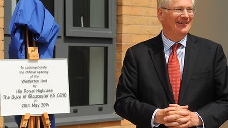 The opening of the radiotherapy cancer treatment unit, the Winterton Unit, at the Norfolk and Norwic