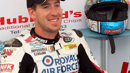 Tributes have been paid to RAF Reserves rider Simon Andrews.