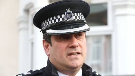 Detective Chief Superintendent Stephen Clayman. Picture: Jonathan Brady/PA