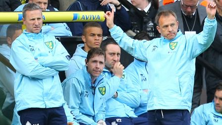 Norwich manager Neil Adams has warned of the dangers of repeating past mistakes. Picture by Paul Che