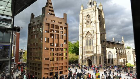 Value of culture: The People's Tower launched the Norfolk and Norwich Festival