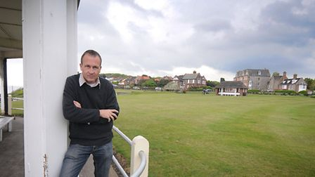 Former Cromer mayor Greg Hayman who has concerns about the planned North Lodge Park deal. PHOTO: ANT