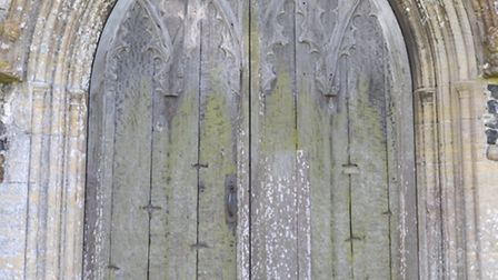 Claw marks on the door of Blythburgh Church were said to be Black Shuck's.