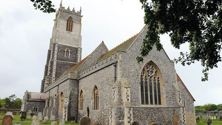 Winterton's refurbished church tower.Picture: James Bass