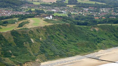 Cromer Lighthouse Hill. Picture: MIKE PAGE