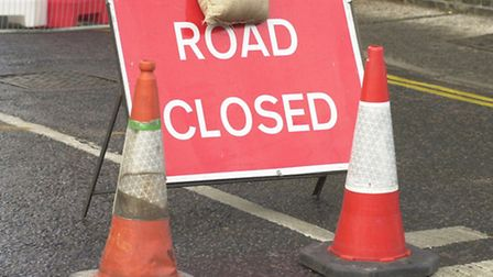 A part of London Road South is to be cosed off