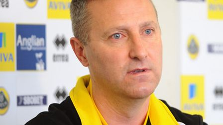 Norwich City manager Neil Adams will pick and choose his transfer battles. Picture: Denise Bradley