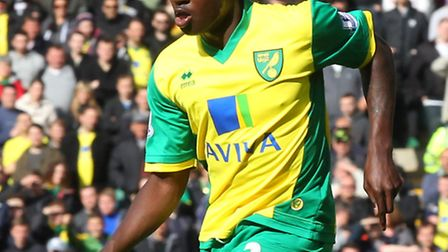 Jamar Loza in action for Norwich City against Arsenal. Picture by Paul Chesterton/Focus Images Ltd
