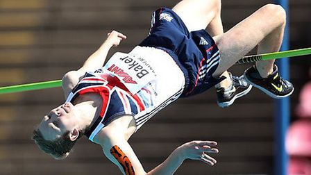 Dereham high jumper Chris Baker will be part of Team England at the Commonwealth Games in Glasgow. P