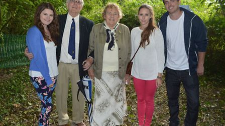 The Louise Willgrass Memorial Woodland was opened at the Sacred Heart School in Swaffham in memory o