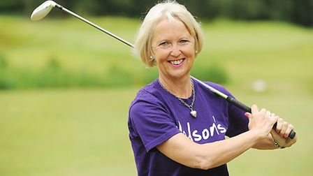 Annie Langstaff is raising money for Nelson's Journey by playing one hole of golf at all 36 Norfolk