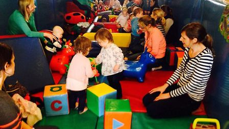 Twinkle Toes Soft Play Baby Cafe will be officially opened in Norwich on June 28.