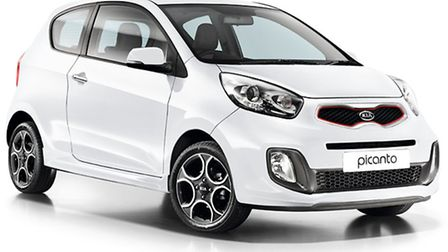 EMG Kia Thetford is offering a Picanto as the prize for a hole in one at a charity golf day.