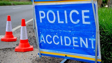 Police were called to the A10 after a collision.