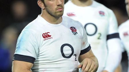 England's captain Chris Robshaw after his teams series loss to New Zealand in the third Internationa