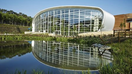 The new holiday village in Woburn Forest, Bedfordshire, Photo credit should read: Center Parcs/PA Wi