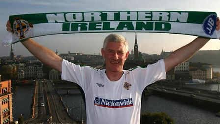 Former Norwich City boss Nigel Worthington played for Northern Ireland in the 1986 World Cup. Pictur