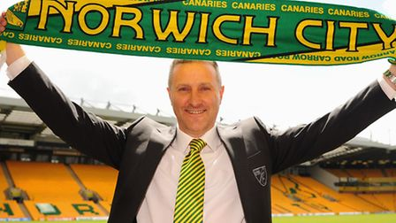The new Norwich City manager, Neil Adams, is officially announced at a press conference at Carrow Ro