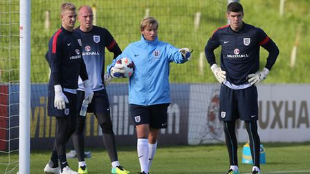 Norwich City keeper John Ruddy missed out on the England World Cup squad with former Canaries' loane
