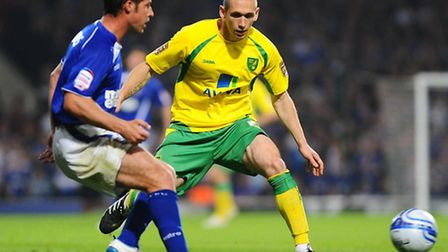 Norwich City old boy Andrew Crofts is on target for a return from a knee ligament injury. Picture: J
