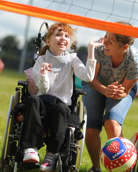 The Presidents Sporting club/ Essex Disabled Sports Foundation holds a sports experience day in Thet