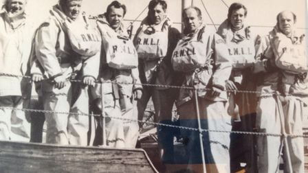 ndated handout photo issued by the RNLI of the six Brunton brothers who all served on the crew of the Dunbar RNLI