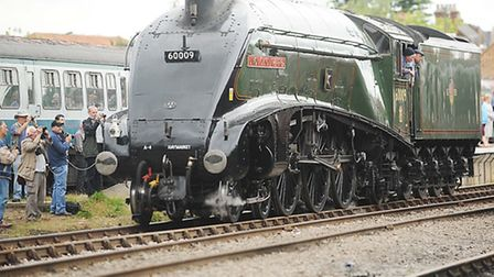 Mid Norfolk Railway steam gala at Dereham Train Station. The Union of South Africa. Picture: Ian Bur