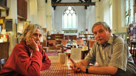The All Saints' Centre and Sanctuary Cafe which are due to close unless funding can be found. Regula