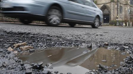 More than three million potholes will be filled in by March next year