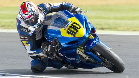 Norwich's Matt Layt returned to action at Snetterton. Photo: Barry Clay