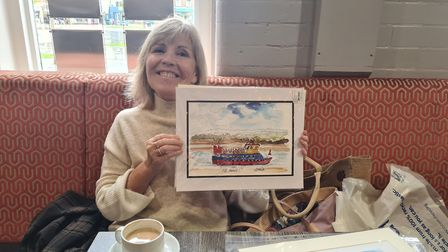 Lesley Martin, who has turned her passion for painting into a project where people can get their own