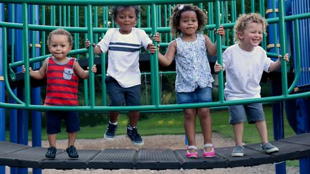 Children in a play park. Picture: Shutterstock