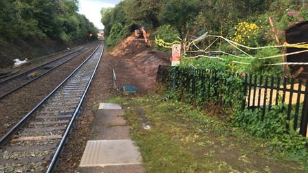 St James Park platform, which, alongside Lympstone Commando, will be having work done to it. Picture